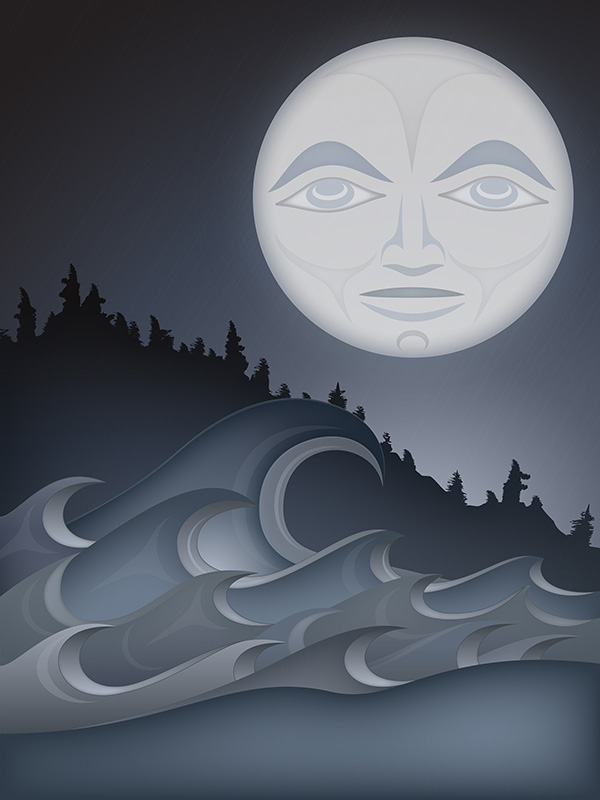 """The Salish Sea"" by Qwalsius-Shaun Peterson"