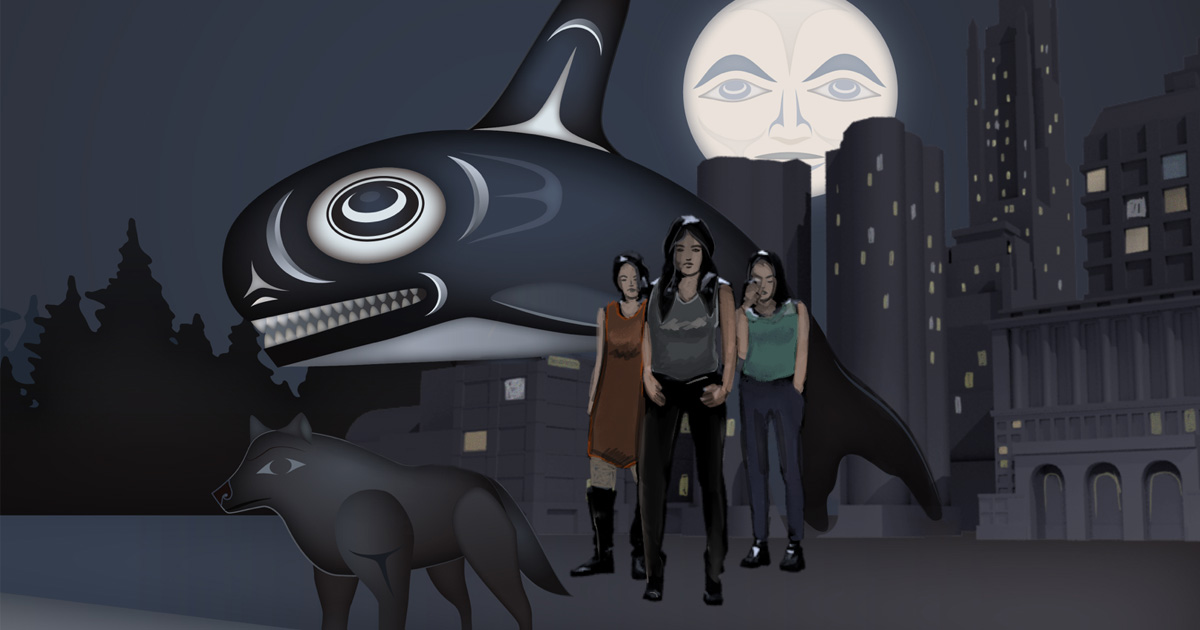 Killer Whale-Wolf & the Isle of Women - by Andrea Grant
