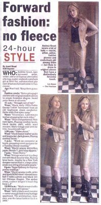 24-Hour Style - Article from The Province