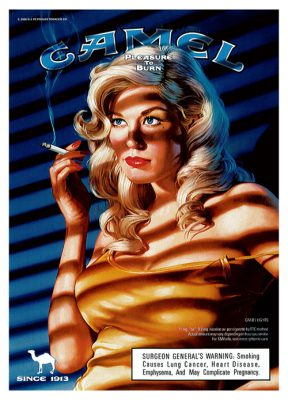Camel Cigarettes - National Advertisement