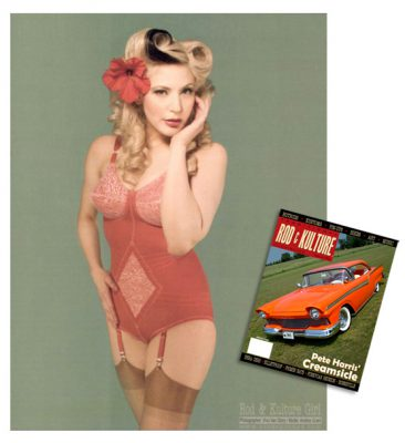 Rod & Kulture Pin-up
