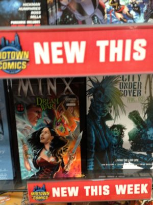 MINX Debut at Midtown Comics, NYC