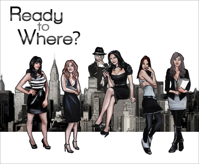 Ready to Where? Web Comic Series by Andrea Grant