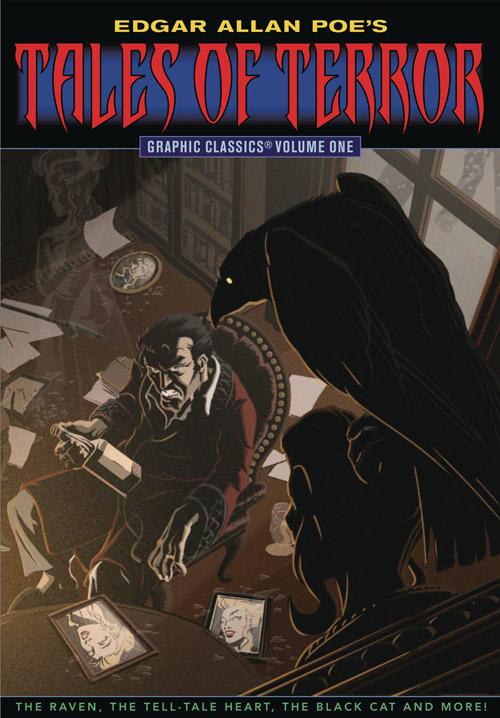 """Graphic Classics: Edgar Allen Poe's Tales of Terror  """"Morella""""  by Andrea Grant"""